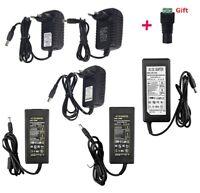 DC12V Power Supply Lighting Transformer1A/2A/3A/5A/8A/10A w/ Plug for LED Strip