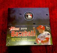 2019 Topps Heritage Baseball 24ct Retail Box