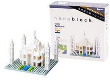 Taj Mahal 420 piezas 3-d Nanoblock mini bloques de creación Kawada 13838