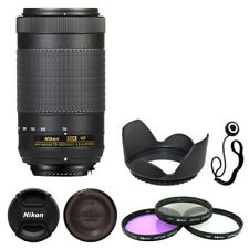 Nikon AF-P DX NIKKOR 70-300mm f/4.5-6.3G ED VR Lens + Deluxe Accessory Kit