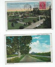 South America-Caribbean-Post Cards-(6)-C#U#Bha-Used-Fi ne-Vf-#158