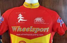 VERGE Wheelsport  Bicycle Racing JERSEY Shirt M 3/4 Zip 3 Back Pockets