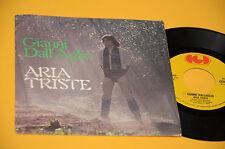 "GIANNI DALLAGLIO 7"" 45 ARIA TRISTE 1°ST ORIG ITALY PROG 1977 EX"