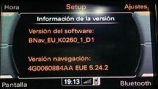 Audi MMI 3G Basic Navi Update - A1 A4 A5  A6  A7 A8 Q3 Q5 Q7 - Euro 17/18