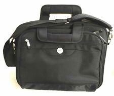 DELL Notebook Tasche - mit Trageriemen, 4 Außentaschen, 2 Innenfächer, schwarz
