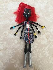 "Monster High 11"" Doll WEBARELLA WYDOWNA SPIDER I HEART LOVE FASHION"