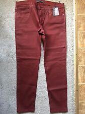 Womens Burgundy Joes jeans size 32 NWT