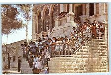 Holy Land Christian Approach Mission Orphanage Bethlehem Israel Card D76