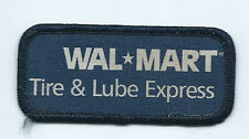 Wal mart Walmart tire lube express employee patch 1-1/2 X 3-1/2 #1942