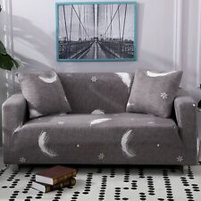 Snowflake Feather Slipcover Sofa Stretch Couch Cover Bedroom Furniture Protector