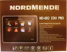 "Tablet 9.7"" Android 4.2 - Wifi - DUALCORE ND-002 EDU PRO  Nordmende REVISIONATO"