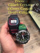 Casio Gorillaz g-shock Limited Edition GW-B5600GZ-1ER ; GA-2000GZ-3AER
