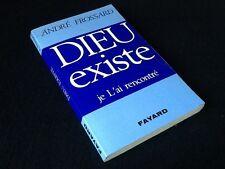 André Frossard  Dieu Existe  Je L' ai rencontré