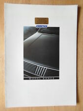 FIAT RANGE 1987 UK Mkt brochure - 126 Panda Uno Strada Regata Croma X1/9