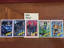 Complete your set - 1990 thru 1996 Marvel commons mix & match - Choose 8 for $1