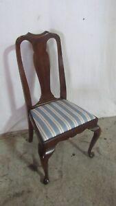 Henkel Harris Queen Anne Side Chair Mahogany