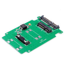 5cm Mini PCI-e mSATA SSD to 2.5 SATA 7+15 22 pin ata adaptador card HDD converter