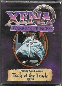 Xena Warrior Princess Trading Card Game Tools of the Trade Expansion Deck 1998