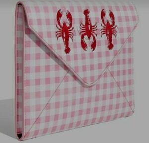 "15"" Skinny Dip Picnic Lobster Laptop Case Sleeve Bag NEW"