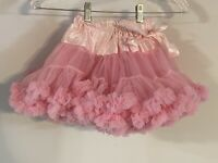 RuffleButts Toddler Girl's Pink Boutique Puffy Poodle Tutu Skirt Size 5 - 6
