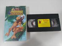 Tarzan VHS Kassette Tape los Big-Size de WALT DISNEY Sammler Spanien