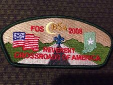 MINT CSP Crossroads of America Council 2008 FOS SA-80