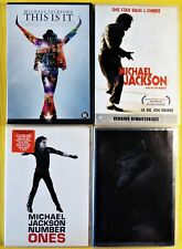 DVD - LOT 4 Michael JACKSON (This Is It - Number Ones - Wembley 88) - NEAR MINT