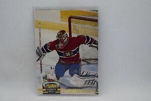 Patrick Roy #252 - 1992-93 Topps Stadium Club - Members Choice - Canadiens