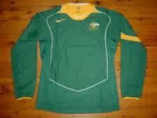 AUSTRALIA SOCCEROOS 2004/2005 PLAYER RARE LS NIKE AWAY SHIRT JERSEY M - L