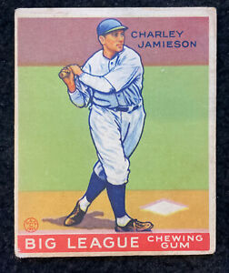Charley Jamieson 1933 Goudey #171 VG Cleveland Indians