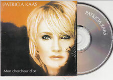 CD CARDSLEEVE PATRICIA KAAS MON CHERCHEUR D'OR 2T SIGNE OBISPO 2000 TBE