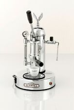 Elektra Microcasa Leva Chrome Manual Lever Espresso Cappuccino Machine 110v