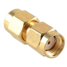 SMA Male Plug To R/P  Male Coupler Joiner Adapter Connector Convertor