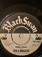 "Dillinger – Bionic Dread - 7"" Vinyl Single 1976"