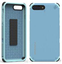 PureGear Soft Blue Dualtek Extreme Rugged Case Cover for iPhone 8 Plus, 7 Plus