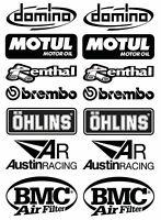 FE SPONSOR Decals Stickers kit Aprilia RSV4 Tuono Swingarm 14 pcs adesivi /918