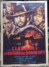 Cinéma - Affiche originale - Ciakmull le batard de dodge city - 120*160 western