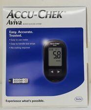 ACCU CHEK Aviva Medidor de glucosa en sangre diabético/Monitor/Sistema + tiras de prueba/Lancetas