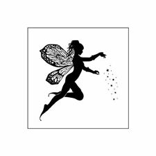 Fairy Angel DIY Silicone Clear Stamp Cling Seal Scrapbook Embossing Album Decor