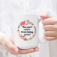 Retired Coffee Mug Gift For Retired Women Grandma Retired Gift Funny Retirement