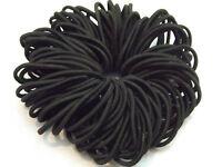 Girls Hair 50 Multi Polyurethane Bands Elastics Snags Width 3mm Diameter 25mm