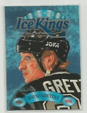 1993-94 Donruss Ice Kings Wayne Gretzky Insert Card #4