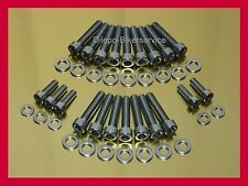 BMW R 1200 GS RT ST R S HP2 stainless steel bolt kit motor front cover 6-lobe TX