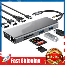 11-in-1 Adapter Type Usb C Hub 4K Usb to Hdmi for Mac Pro Other Type C Laptops