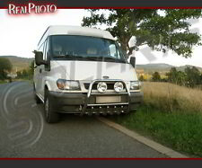 FORD TRANSIT MK6 HIGH BULL BAR, NUDGE BAR, A BAR  / STAINLESS STEEL