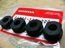 Honda CB 750 Four K0 - K6 Gummi Set Nummernschildhalter Rubber set number plate