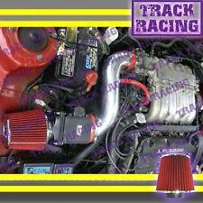 91 92 93-99 MITSUBISHI 3000GT GTO DODGE STEALTH N/T 3.0L V6 AIR INTAKE KIT Red