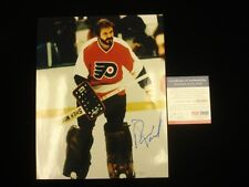 "Bernie Parent Philadelphia Flyers Autographed 8"" x 10"" Photograph PSA/DNA"