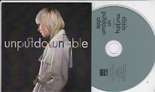 ROISIN MURPHY UNPUTDOWNABLE RARE 2 TRACK PROMO CD
