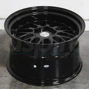 ESR SR05 Gloss Black 18x9.5 / 18x10.5 +22 5x120 Wheels 18 Inch Rims Set 4